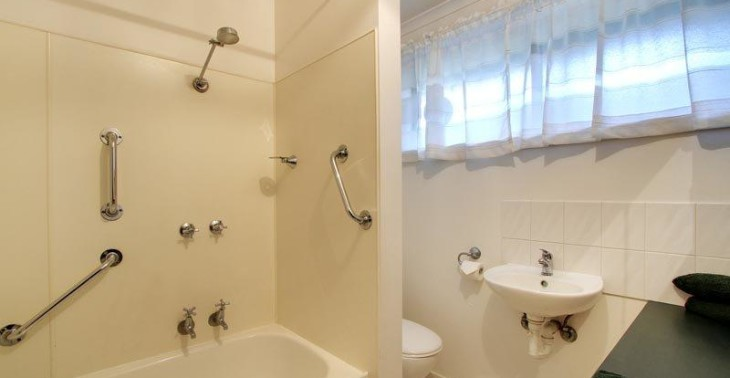 bathroom with bath in apartments